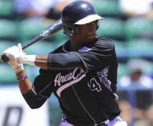 Monte' Harrison (Photo Credit: Scott Kurtz / Area Code Baseball)